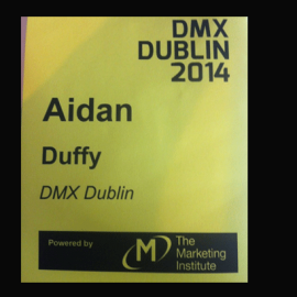 Why would an SME attend a Marketing Conference? DMX Digital Marketing Conference 2014 Review