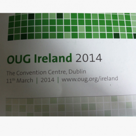 Oracle User Group Conference 2014 Review