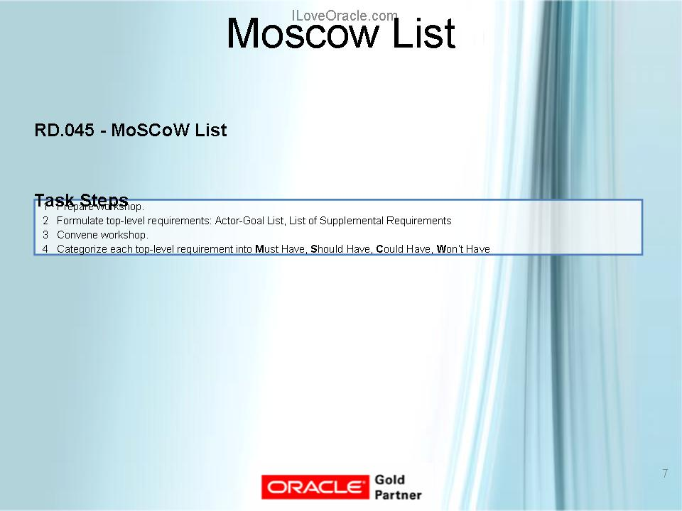 Moscow List